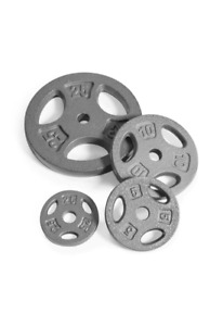 Cap Barbell and Cast iron weight plate