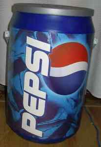 """PEPSI COLA LOVERS SPORTS REPLICA POP CAN COOLER 20"""" X 11"""" CLEAN"""