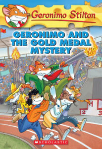 BRAND NEW - GERONIMO AND THE GOLD MEDAL MYSTERY - PAPERBACK