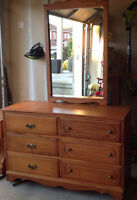 6 Drawer Wood Dresser