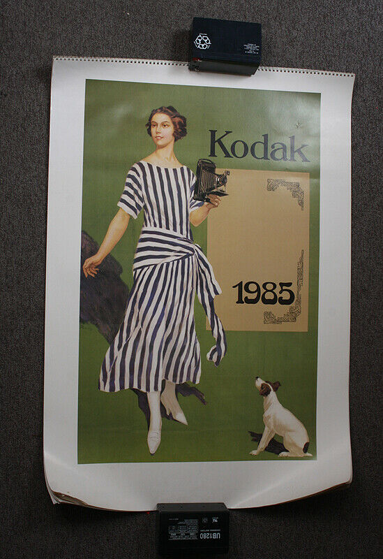 CALENDAR, 1985, FEATURING A KODAK GIRL, GERMAN/cks/214562