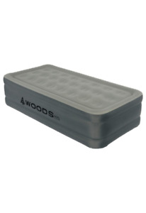Air Mattress: Woods™ TrueSleep Double-High Airbed - Twin