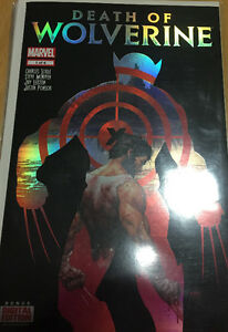 Comic books death of Wolverine set
