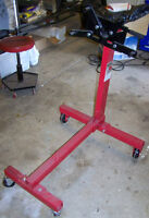ENGINE STAND, Heavy Duty 1/2 ton, 1,000 lb