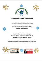 "Christmas Fundraiser In Support of ""The Take Action Society """