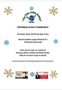 """Christmas Fundraiser In Support of """"The Take Action Society """""""