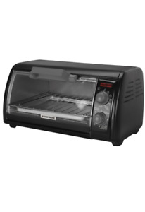 Black and Decker 4-slice Toaster Oven in mint condition