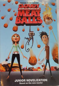2 x Cloudy with a Chance of Meatballs Junior Novel Chapter Book