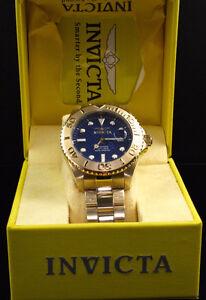 Brand New Invicta Men's Pro Diver 18K Gold Swiss movement