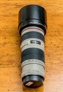 Canon 70 - 200 mm L USM lens