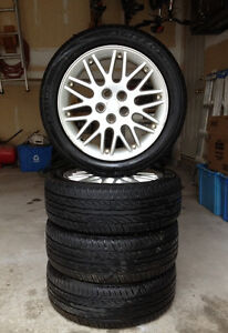 Neon R/T Rims and Tires