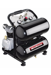 MotoMaster 5 Gallon Twin-Stack Air Compressor - Brand New