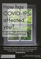 UBC's Depression, Anxiety, and Stress Lab COVID-19 Study