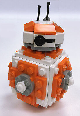 Constructibles Round Robot Mini Model Lego  Parts   Instructions Kit