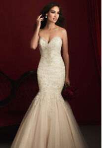 Stunning Allure  wedding gown!