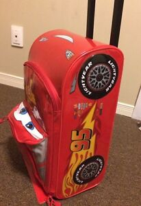 Lightning McQueen kids luggage (New)