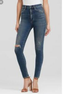 Aritzia citizens of Humanity Chrissy high rise jeans size 30 nwo