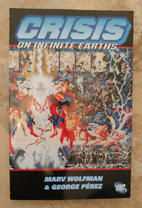 Crisis on Infinite Earths softcover trade