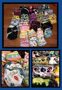Huge LOT of HIGH END & LIMITED EDITION Cloth Diapers Peterborough Peterborough Area image 4