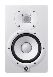 (PAIR) Yamaha HS7 W 6.5-Inch Powered Studio Monitor, White