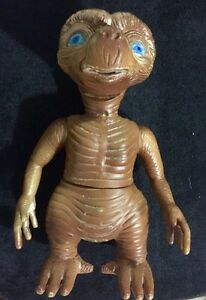 """RARE! E.T. The Extraterrestrial 10"""" Toy Figure"""