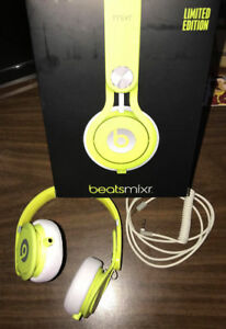 Beats Mixr Wired On-Ear Headphone - Neon Yellow (Discontinued by
