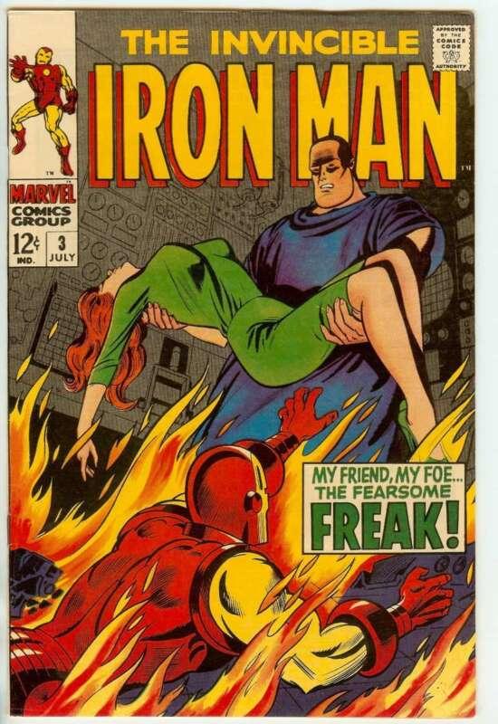 IRON MAN #3 8.5