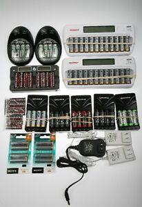 10 Charges, 68 AA rechargeable batteries, 8 New AA rechargeable Windsor Region Ontario image 1