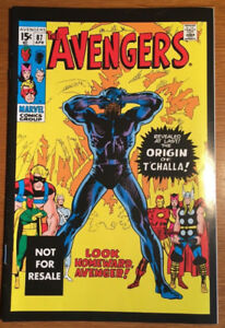 Avengers #87 Reprint Black Panther First Appearance Marvel