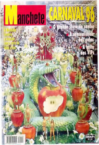 1996 Manchete Carnaval Magazine Collector's Item