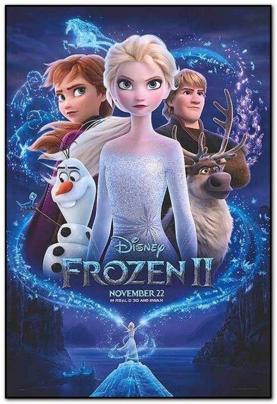 Frozen 2 35mm Film Cell strip very Rare var_e