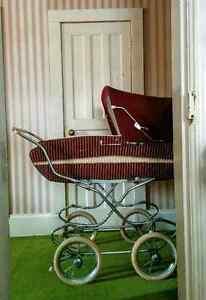 Vintage 1970's Wicker Perego Pram Carriage