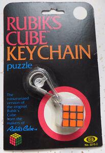 Vintage Rubik's mini cube in Packaging 1982