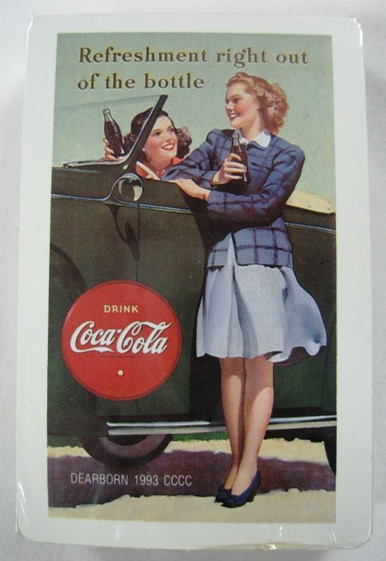 Coca Cola Playing Cards -1993 Dearborn, MI.- Sealed