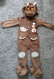 Gruffalo dressing up outfit. 3-4 years.