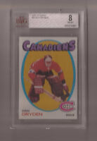 1971-72 Topps Ken Dryden Rookie Card #45 Graded Beckett 8