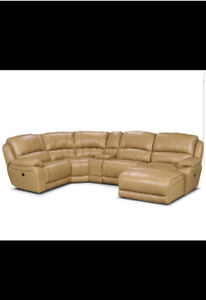 Marco cindy Crawford leather sectional