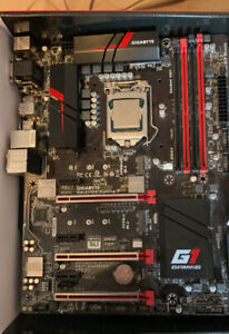 Used CPU and Motherboard,  i7 - 6700k, Gigabyte Z170X Gaming 3