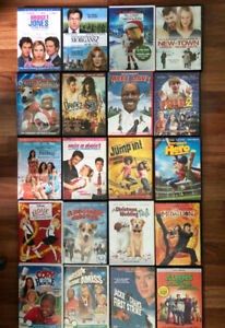 Dvds movies 1$ each