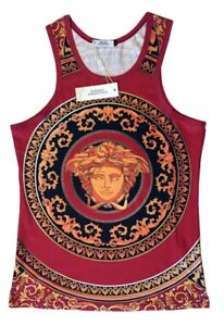 VERSACE COLLECTION Tank Top 100% Authentic Medusa Baroque XL NEW