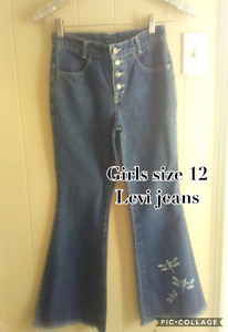 Size 12 high waisted Levis