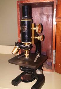Vintage 1920 Spencer Microscope