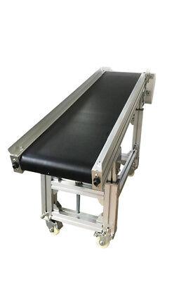5911.8 Flat Inclined Belt Conveyor Platform Length11.8new Type Conveyor