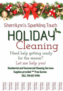 Sherrilynns Sparkling Touch cleaning services St. John's Newfoundland image 1