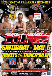 """MMA - Pro Kickboxing May 6 """"Collision Course"""""""