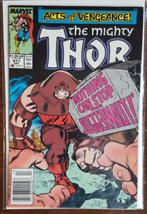 The Mighty Thor 411 Feat. Juggernaut