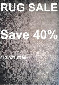 Rugs Sale- 40% OFF on all rugs - Over 1000 Designs