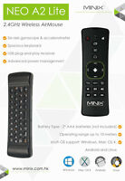 MINIX NEO A2 Lite Wireless Keyboard Air Mouse 2.4GHz Android TV