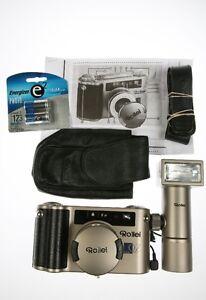 Rollei 35W QZ Camera 28-60mm f2.8-5.6 lens Design By F.A.PORSCHE Windsor Region Ontario image 1