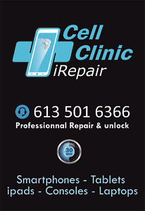 PROFESSIONAL CELL PHONE REPAIR & UNLOCK SERVICES+++